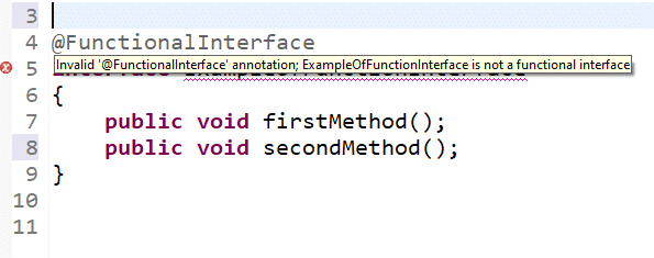 functional interface in java 8