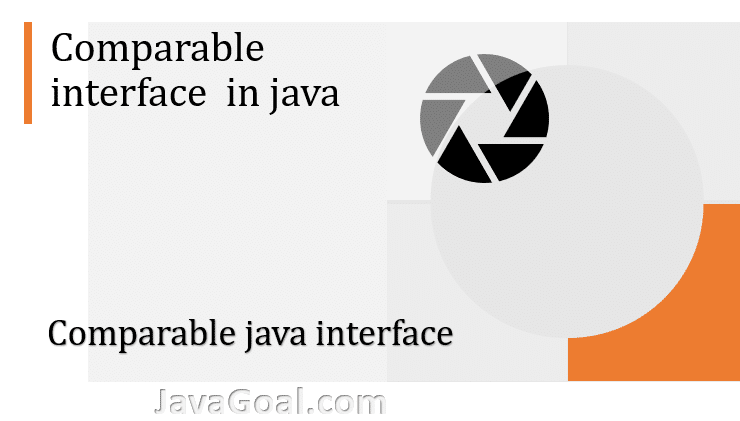 comparable java