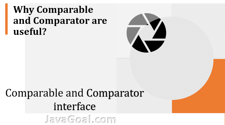comparable and comparator