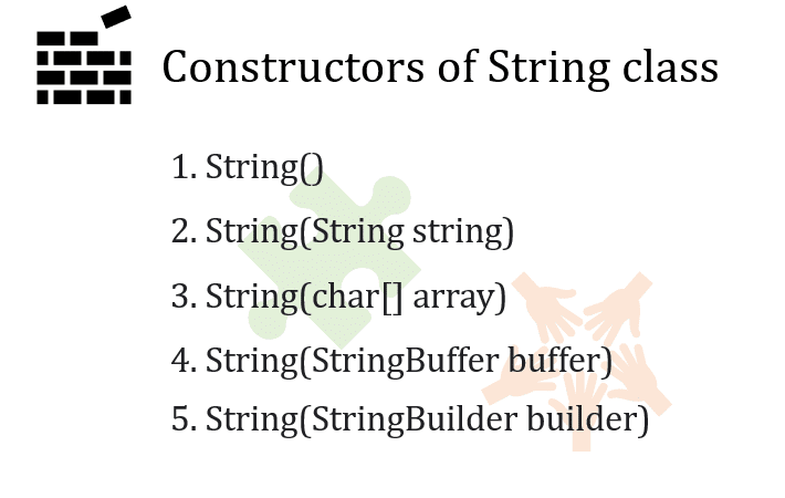 string constructor in java
