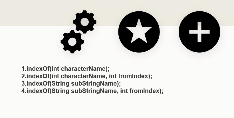 String indexof() java