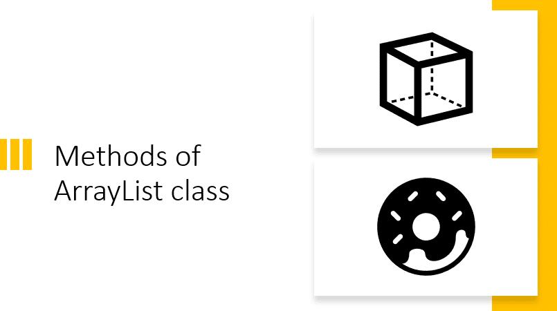 Java ArrayList methods