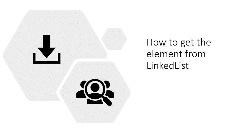 get the element from LinkedList
