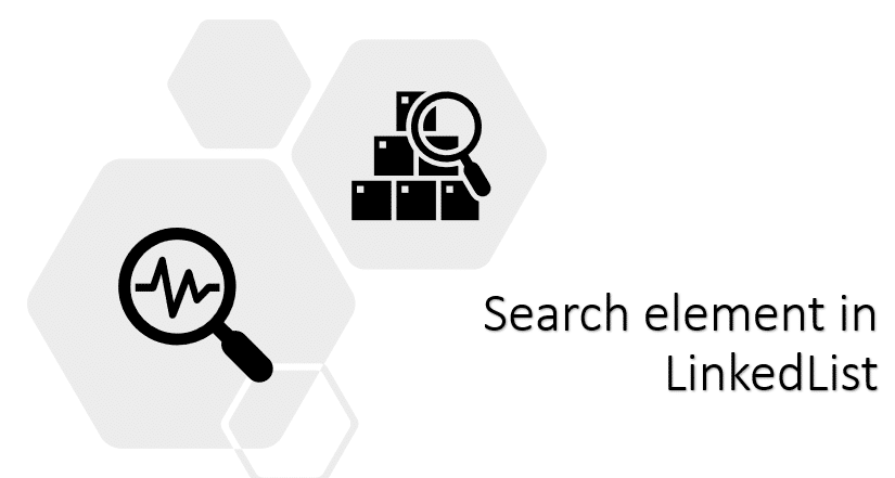 Searching in linked list