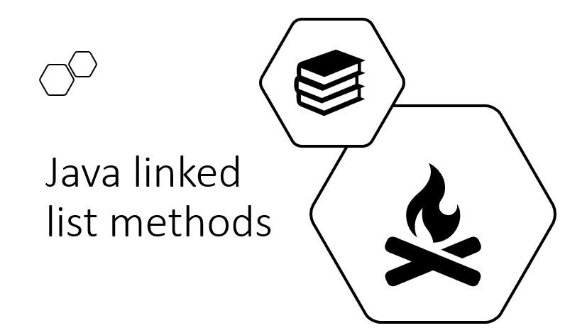 Java linked list methods