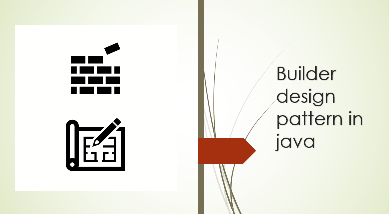 Builder design pattern in java?
