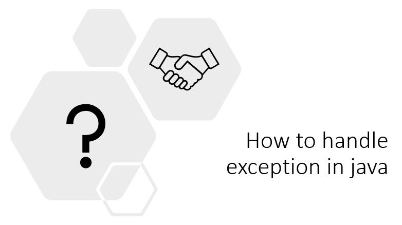handle exception in java