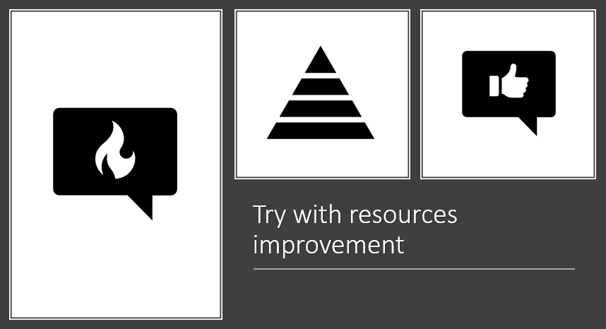 try with resource